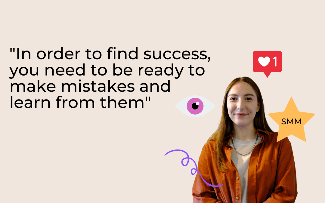 Sophie Grosvenor about working in an international team, the Kickstart Scheme, and curating content