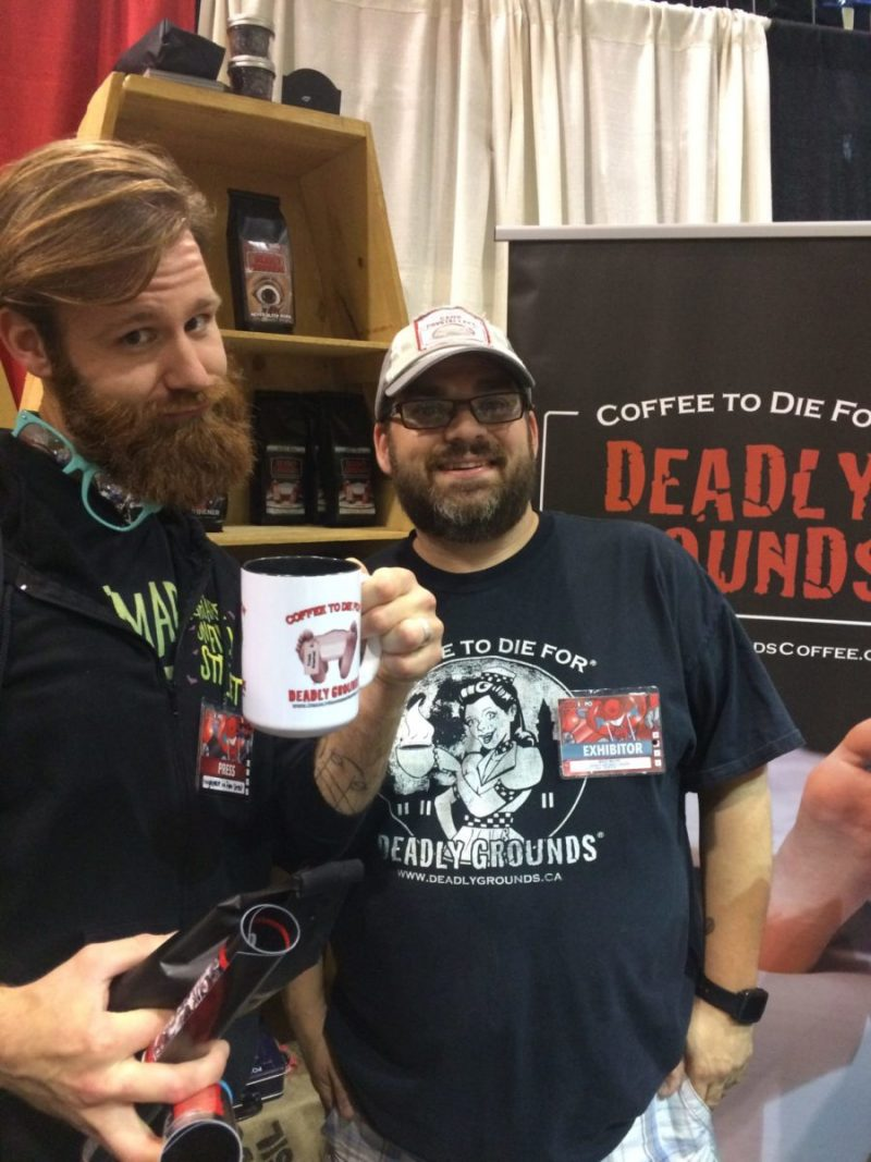 deadly grounds fan expo canada nightmare on film street