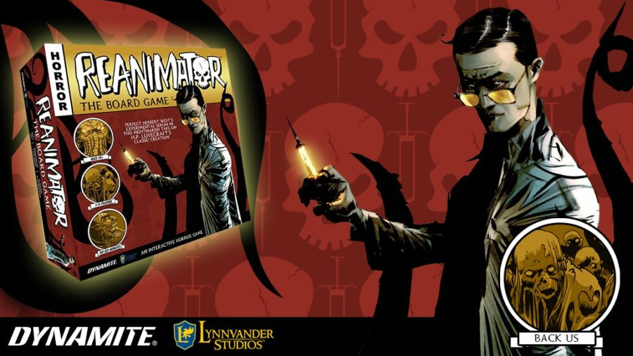 [Fund This] Raise The Dead With The REANIMATOR Mystery Board Game