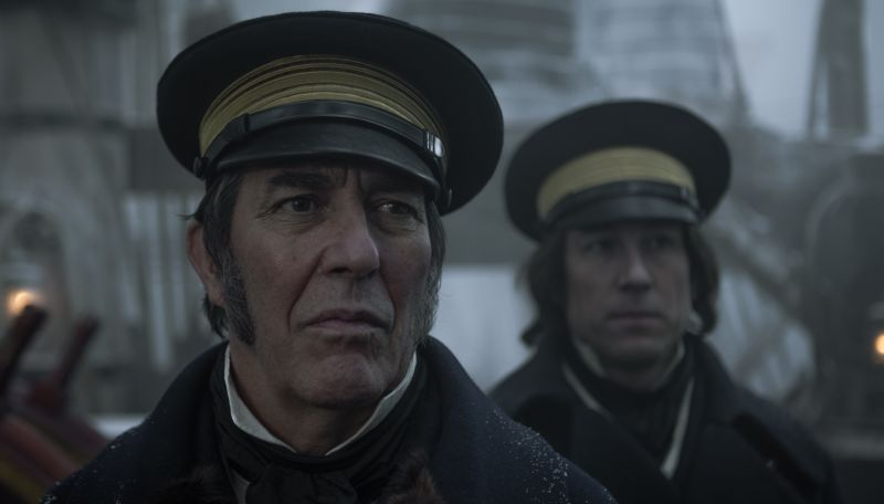 Ciaran Hinds and Tobias Menzies in The Terror