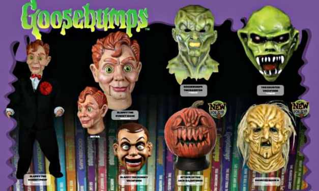 New GOOSEBUMPS Masks Coming from Trick or Treat Studios