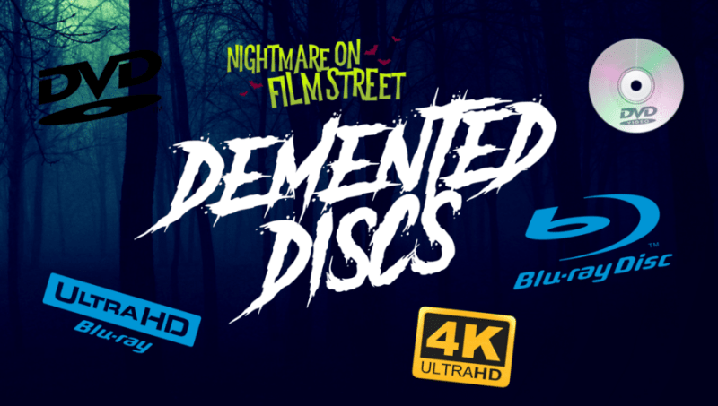 nightmare on film street demented discs
