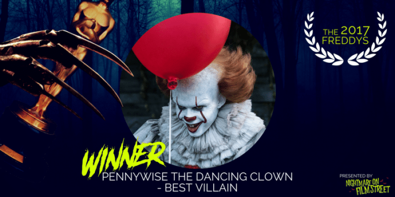Pennywise the Dancing Clown –IT(WINNER!)