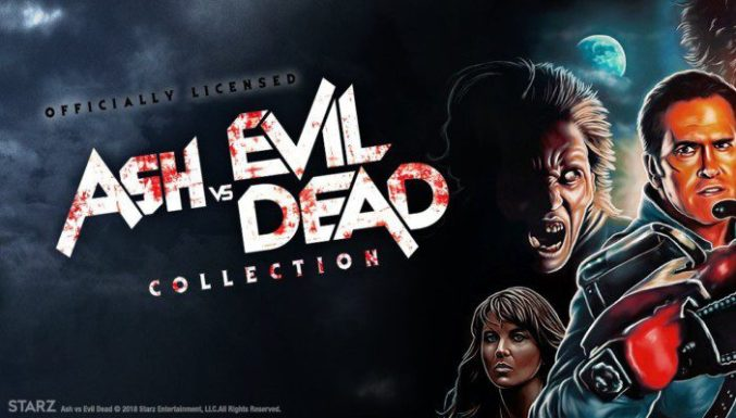 9a498dc4b09 New Officially Licensed ASH VS. EVIL DEAD Tees Arrive from Fright-Rags