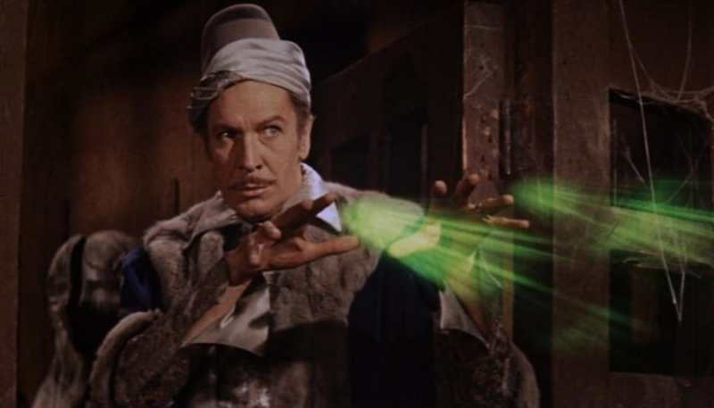 vincent price the raven