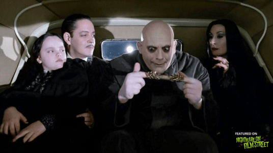 new episode of nightmare on film street horror podcast addams family values (1)
