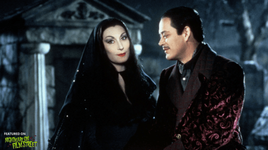 new episode of nightmare on film street horror podcast addams family values