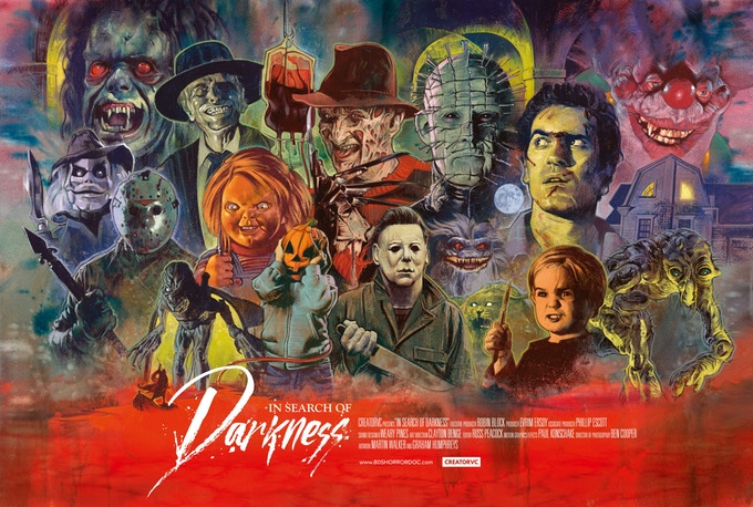 [Exclusive Interview] The Creatives Behind Horror Doc IN SEARCH OF DARKNESS Talk The Allure of the 80s and the Power of Horror Fans