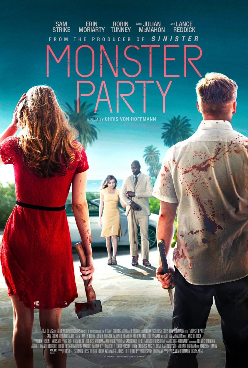 monster party 2018 poster