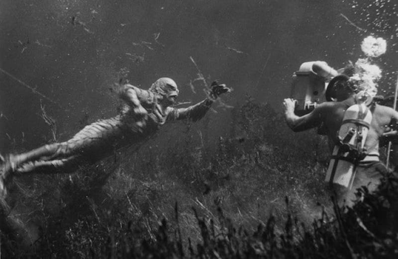creature from the black lagoon behind the scenes