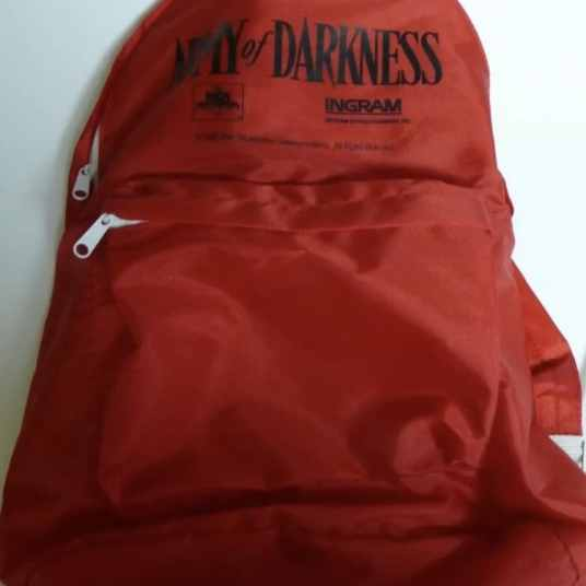 army of darkness collector's crypt horror movie promotional merchandise backpack