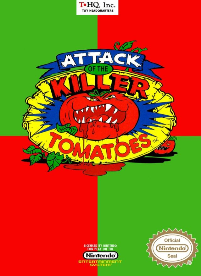 attack of the killer tomatoes merch 3