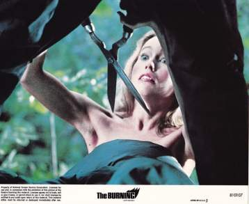 the burning - collector's crypt - nightmare on film street lobby card 1