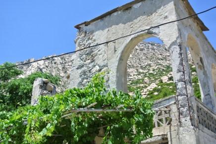 Monastery in Xilositri, Ikaria, Greece