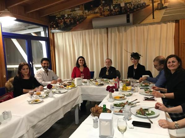 Nogier Türkiye Grup Yemeği 1