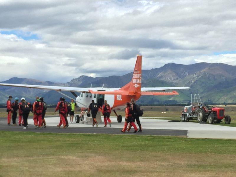 Airplane, Wanaka Airport, Wanaka, Otago, New Zealand