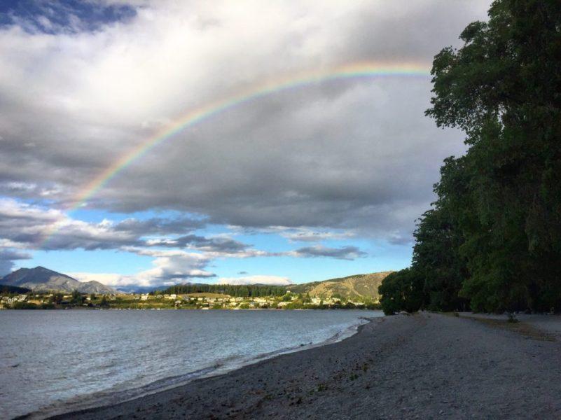 Rainbow, Lake Wanaka, Otago, New Zealand