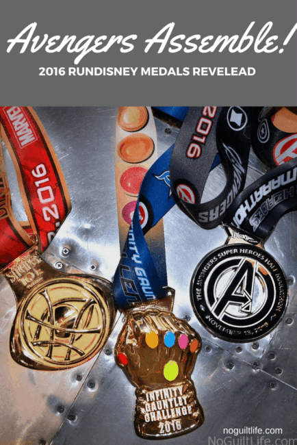 Avengers Assemble! Even a Civil War can't keep this team down. runDisney medals for the 2016 race at Disneyland revealed