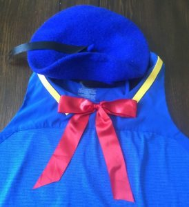 Donald Duck Costume Tutorial