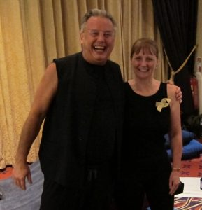 Master Wendy Mills with NO HANDS Founder and Creator, Gerry Pyves