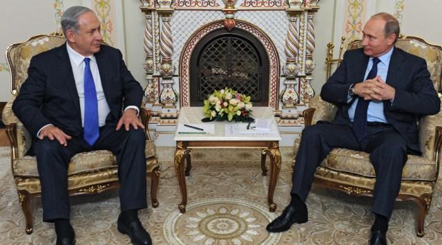 Putin y Netanyahu