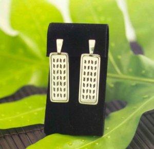 Ka Pilina earrings by Sonny Ching