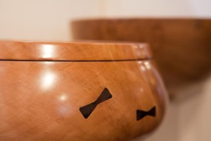 Turned Bowls of local woods