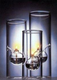 Wolfard glass lamps