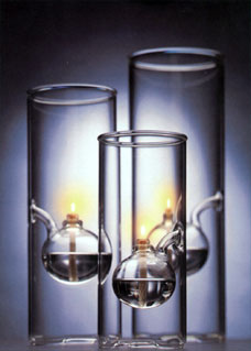 Wolfard glass lamps