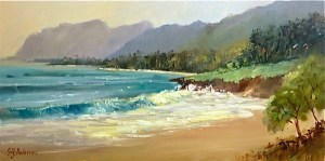Susie Anderson original oil painting Windward Grace 21 x 24