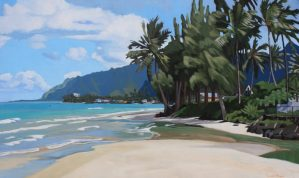 Brenda Cablayan original painting Just Another Day 36 x 60