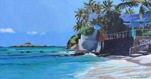 Brenda Cablayan Kaiona original painting 18 x 30