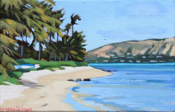 Brenda Cablayan original painting Maunalua Bay #1