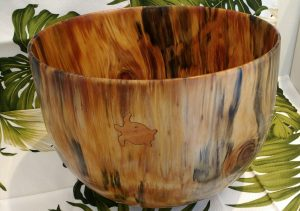 Carl Sherry Norfolk Island Pine bowl