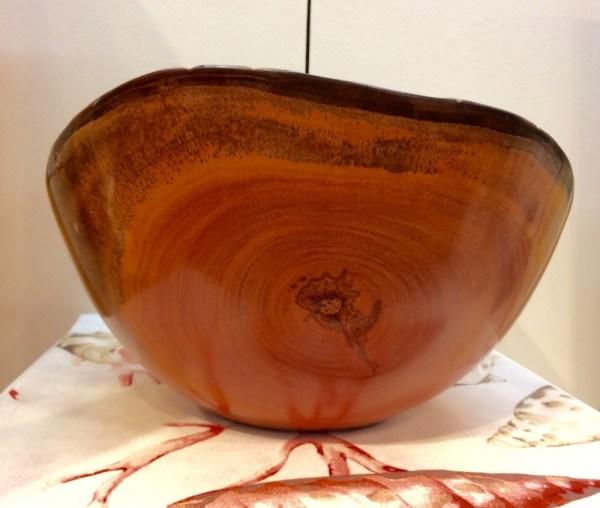Kamani Natural Edge bowl