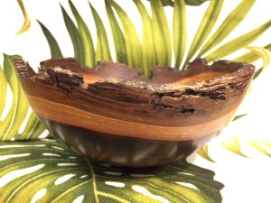 Andy Cole Milo natural edge bowl 7x7x3.5""
