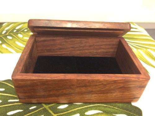 "Honolulu Woodworking Designs Koa Boxes 4x6x2.25"""