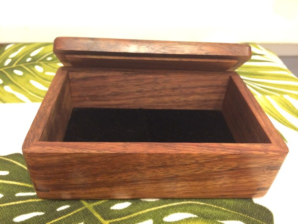 Honolulu Woodworking Designs Koa Boxes 4x6x2.25""