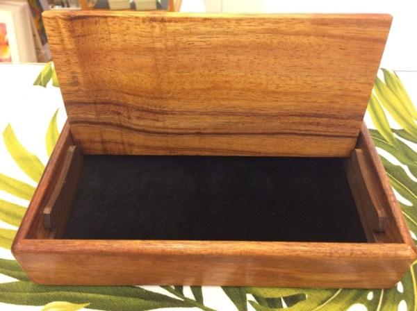 "Honolulu Woodworking Designs Koa Box 3x5x2.25"""