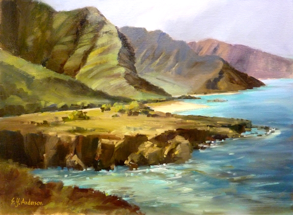 Susie Anderson Hawaii Rugged and Tranquil