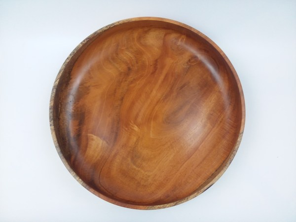 "Andy Cole Cuban Mahogany Bowl 3"" x 12"""