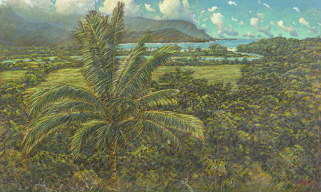 Russell Lowrey giclee Princeville