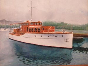 "Burton Uhr 'Vida Mia' Oil Painting 17""x 21"""