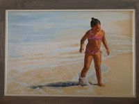 Burton Uhr 'Girl at the Beach'