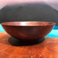 "Gordon Tang Red Mallee Burl Bowl 2""H x 6.5""D"
