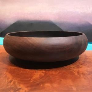 """Gordon Tang Walnut 'Umeke 3.75""""H x 13""""D"""