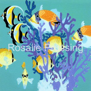 Rosalie Prussing Hawaiian Ocean Reef