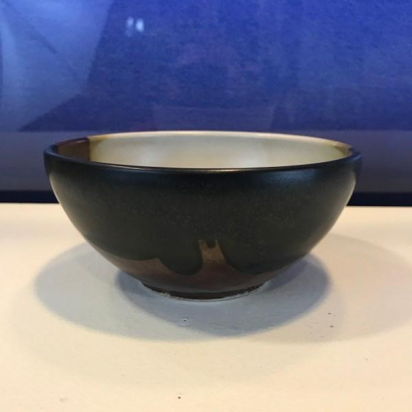 "Jeff Chang Earth Tone Stoneware Bowl 2.5""Hx5.5""D (representative)"