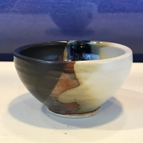 "Jeff Chang Earth Tone Stoneware Bowl 2""Hx3.25""D (representative)"