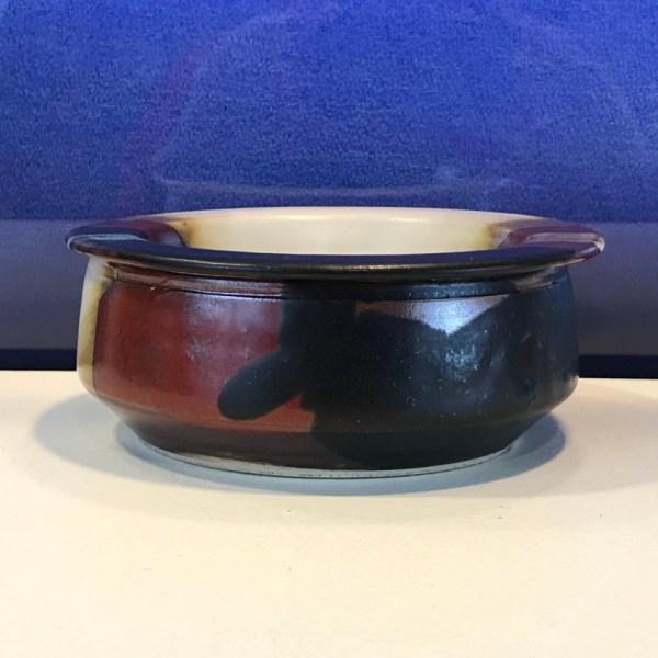 """Jeff Chang Earth Tone Stoneware Tofu Dish 2.75""""Hx7""""D (representative)"""